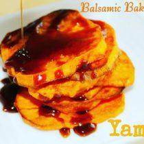 balsamic yams